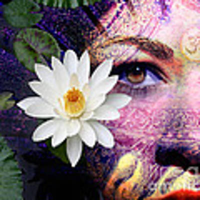 Full Moon Lakshmi Poster by Christopher Beikmann