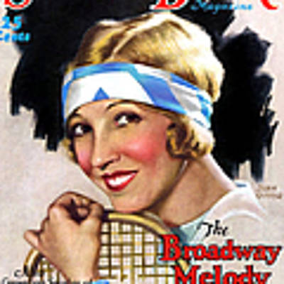 1920s Usa Screen Book  Magazine Cover Poster by The Advertising Archives