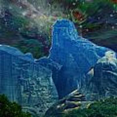 Fantastic Landscape Poster by Augusta Stylianou