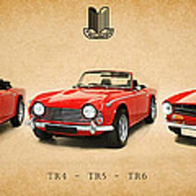 Triumph Tr Series Poster