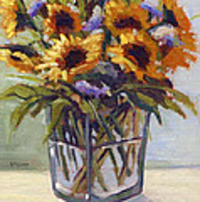 Summer Bouquet 4 Poster by Konnie Kim