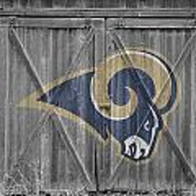 St Louis Rams Poster by Joe Hamilton