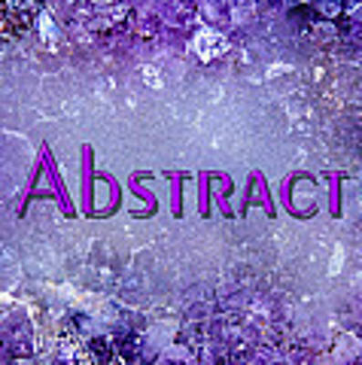 Abstract Gallery Cover Poster by Donna Proctor