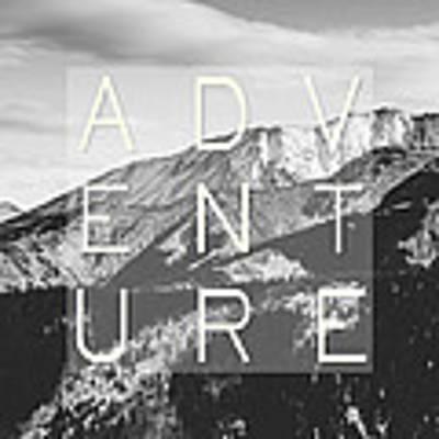 Adventure Typography Poster
