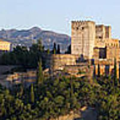 Alhambra Palace - Panorama Poster by Nathan Rupert