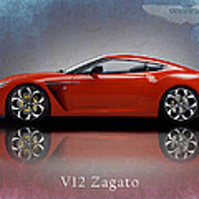 Aston Martin V12 Zagato Poster