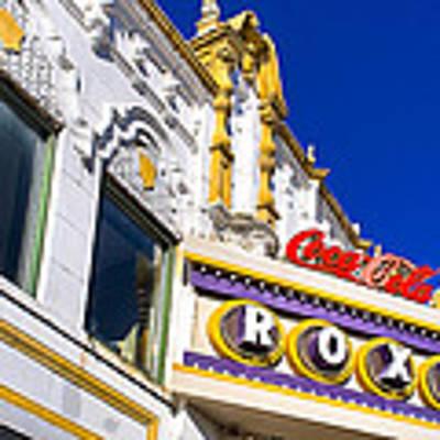 Atlanta Roxy Theatre Poster by Mark E Tisdale