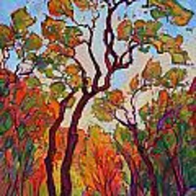 Autumn Flame Poster by Erin Hanson