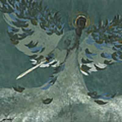 Avenging Angel Poster by John Wyckoff