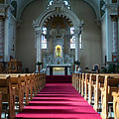 Basilica Of Saint Stanislaus Kostka Interior Center Poster by Kari Yearous