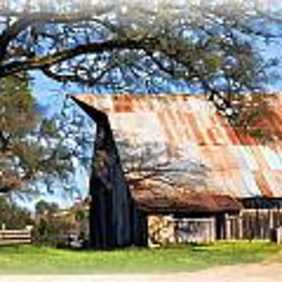 Big Barn On Mccourtney Poster by William Havle
