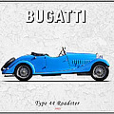 Bugatti Type 44 1927 Poster