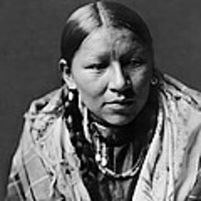 Cheyenne Young Woman Circa 1910 Poster by Aged Pixel