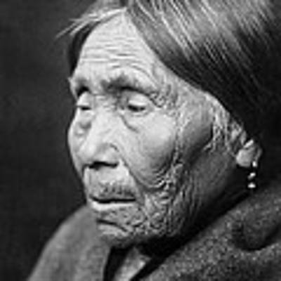 Chimakum Indian Woman Circa 1913 Poster by Aged Pixel