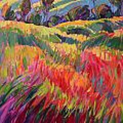 Color Bank Poster by Erin Hanson
