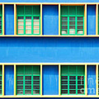 Colorful Windows Poster by Yew Kwang