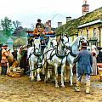 Departing Cranford Poster by Paul Gulliver