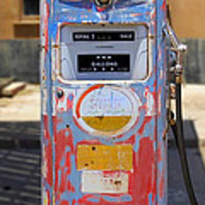 Desert Mountain Super Gasoline - Bennett Gas Pump Poster