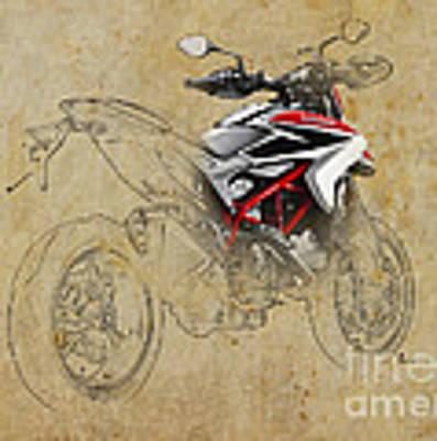 Ducati Xii Poster