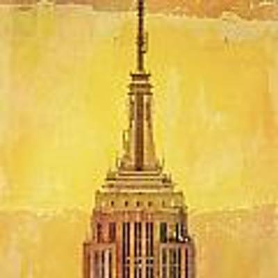 Empire State Building 4 Poster