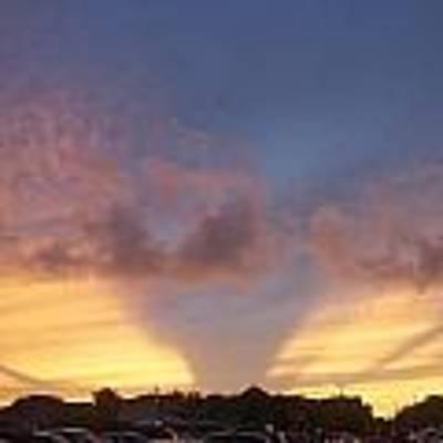 Evening Sky Poster by Ralph Jones