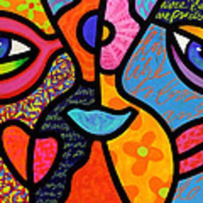 Eye To Eye Poster by Steven Scott