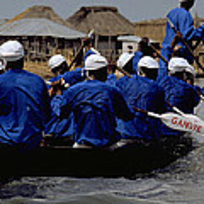 Ganvie - Lake Nokoue Poster by Travel Pics