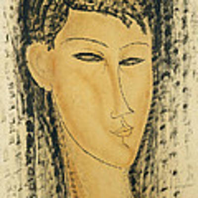 Head Of A Young Women Poster