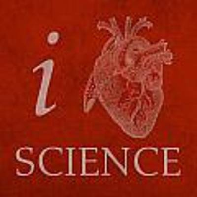 I Heart Science Humor Poster Poster by Design Turnpike