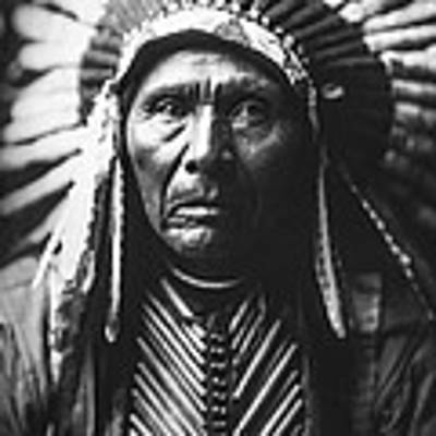 Indian Of North America Circa 1905 Poster