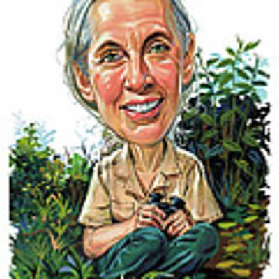 Jane Goodall Poster