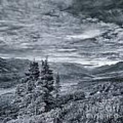 Land Shapes 18 Poster by Priska Wettstein