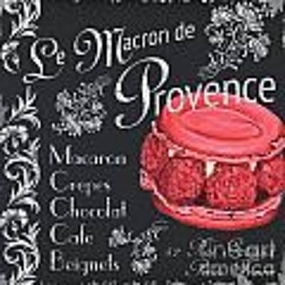 Le Macron De Provence Poster by Debbie DeWitt