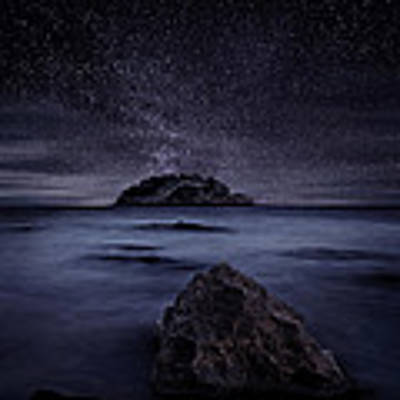 Lights Of The Past Poster by Jorge Maia