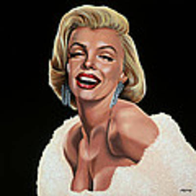 Marilyn Monroe Poster by Paul Meijering
