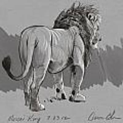 Masai King Poster