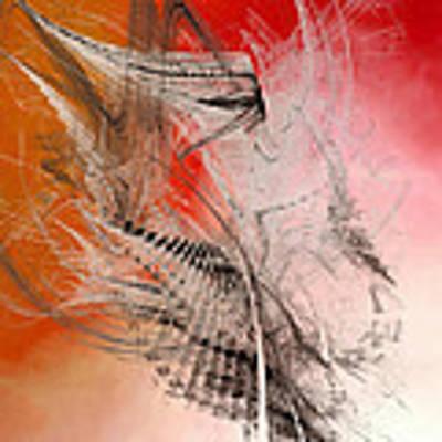 Mercury In Aries - Cardinal Fire Poster by Menega Sabidussi