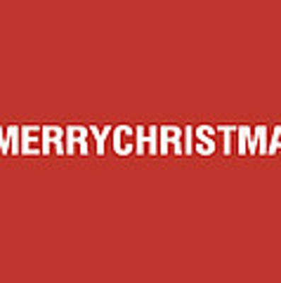 Merry Christmas Hashtag Poster