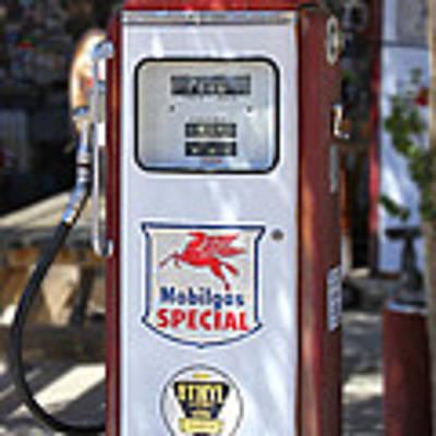 Mobilgas Special - Tokheim Pump Poster