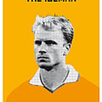 My Bergkamp Soccer Legend Poster Poster by Chungkong Art