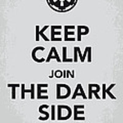 My Keep Calm Star Wars - Galactic Empire-poster Poster