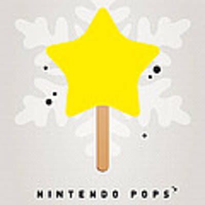My Nintendo Ice Pop - Super Star Poster