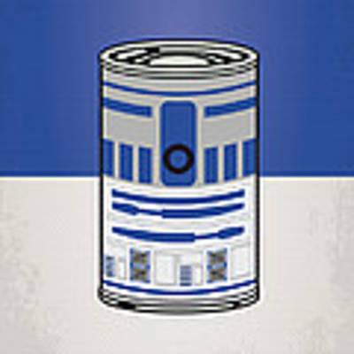 My Star Warhols R2d2 Minimal Can Poster Poster by Chungkong Art