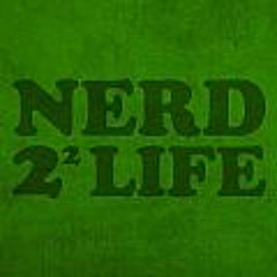 Nerd 4 Life Math Formula Humor Poster Poster by Design Turnpike