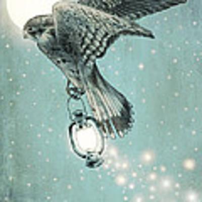Nighthawk Poster by Eric Fan
