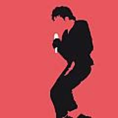 No032 My Michael Jackson Minimal Music Poster Poster