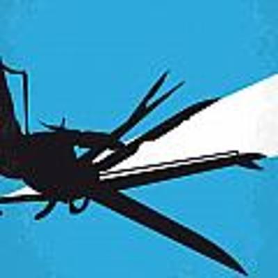 No260 My Scissorhands Minimal Movie Poster Poster