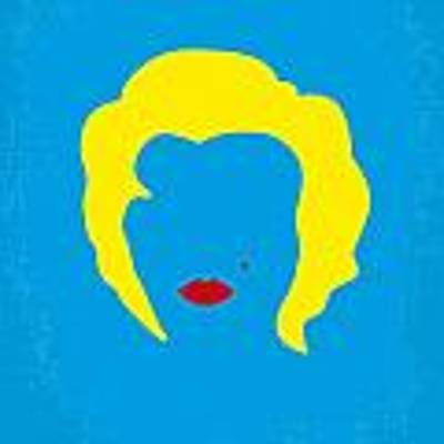 No284 My Week With Marilyn Minimal Movie Poster Poster by Chungkong Art