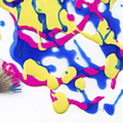 Paint Splatter Poster by Diane Diederich