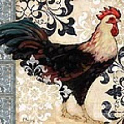Renaissance Rooster I Poster
